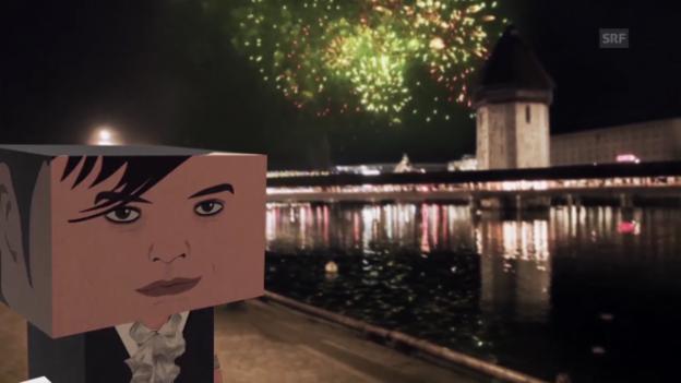 Video «Die Ruhe ist vorbei - Kapellbrücke» abspielen