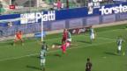 Video «Zusammenfassung St. Gallen - GC («sportpanorama»)» abspielen