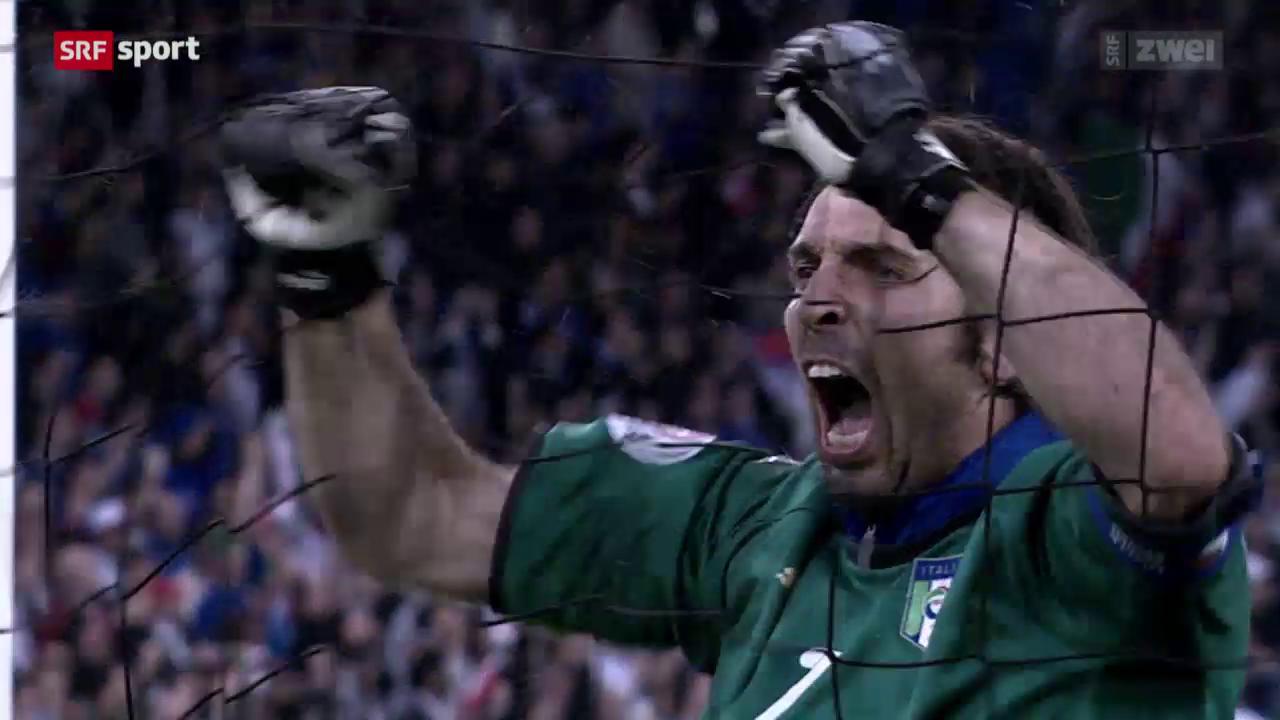 Italiens Legende Gianluigi Buffon im Porträt