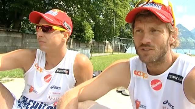 Schweizer Olympia-Hoffnungen – Teil 2: Patrick Heuscher und Jefferson Bellaguarda