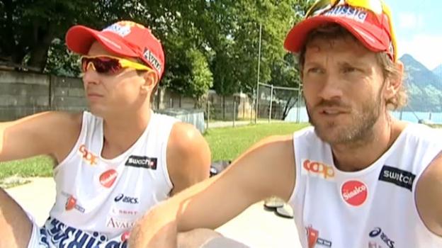 Video «Schweizer Olympia-Hoffnungen – Teil 2: Patrick Heuscher und Jefferson Bellaguarda» abspielen