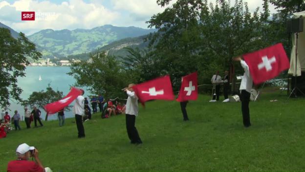 Video «Schweiz aktuell vom 01.08.2016» abspielen