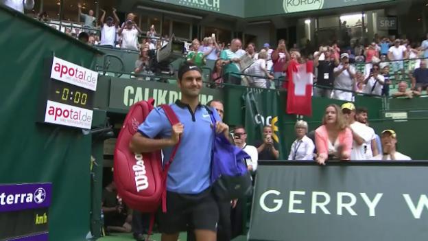 Video «Zusammenfassung Federer - Zverev» abspielen