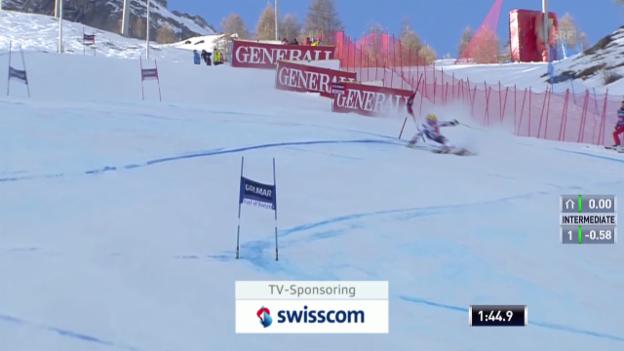 Video «Ski alpin: Riesenslalom Männer Val d'Isère, 2. Lauf Marcel Hirscher («sportlive», 14.12.2013)» abspielen