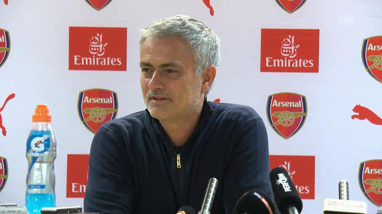 Mourinho stichelt gegen Arsenal-Fans (Quelle: SNTV)
