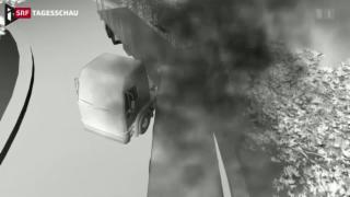 Video «Busunglück in Frankreich fordert 43 Todesopfer» abspielen