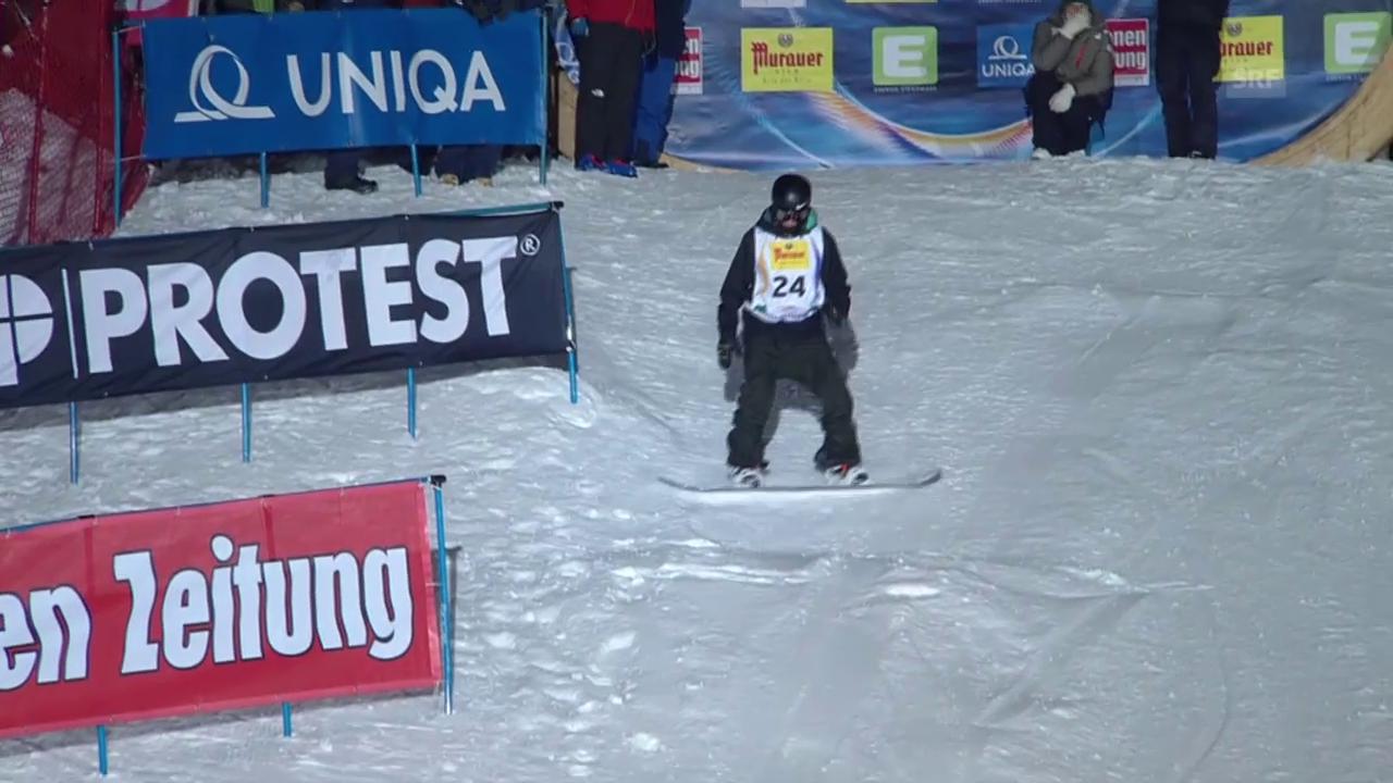 Snowboard: Quali-Run von Jan Scherrer