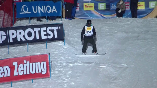 Video «Snowboard: Quali-Run von Jan Scherrer» abspielen