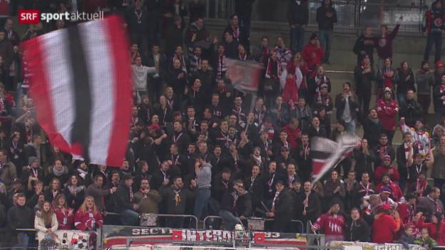 Video «Der HC Lausanne zieht verdient in den Cupfinal ein» abspielen