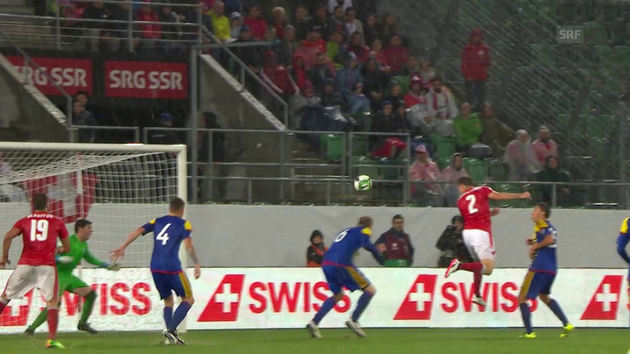 Schweiz - Andorra: Die Live-Highlights