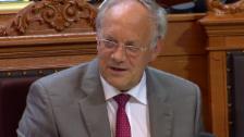 Video «Bundesrat Schneider-Ammann unterstützt harmonisierte Ladenöffnungszeiten» abspielen