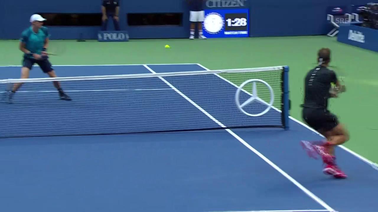 Bezeichnend: Nadal holt alles und passiert Anderson