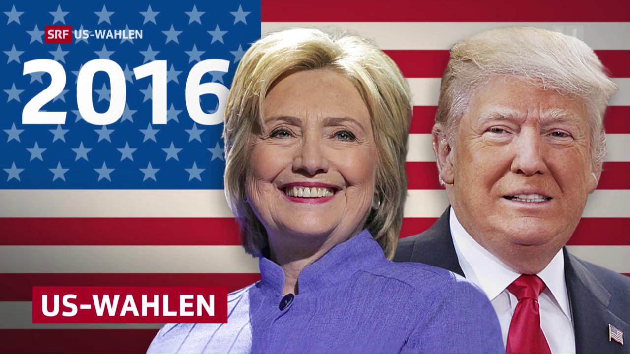 TV-Wahldebatte zwischen Hillary Clinton und Donald Trump, 27.09.2016