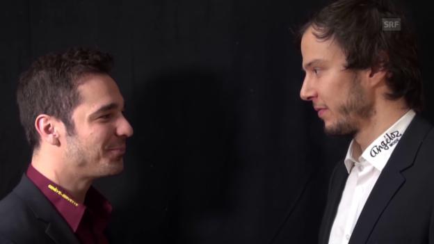 Video «Tête-à-Tête: Matt D'Agostini und Julien Sprunger» abspielen
