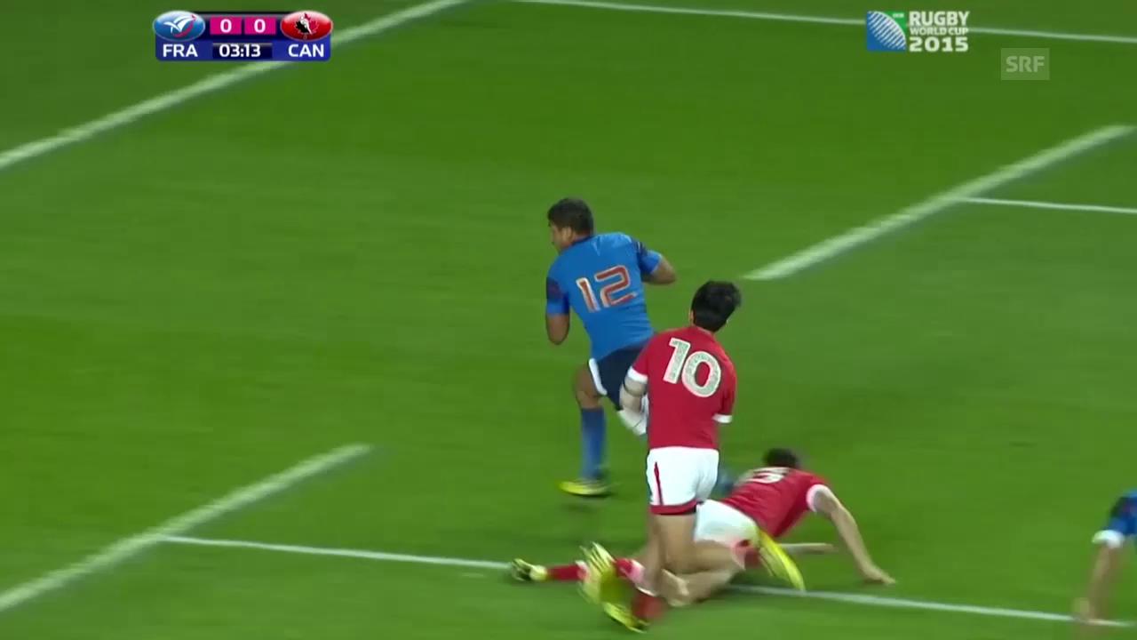 Rugby: WM in England, Gruppe D, Frankreich - Kanada