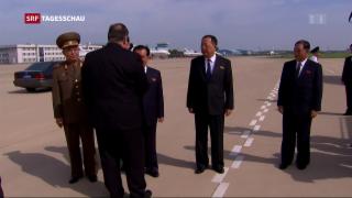 Video «Nordkorea von USA enttäuscht» abspielen