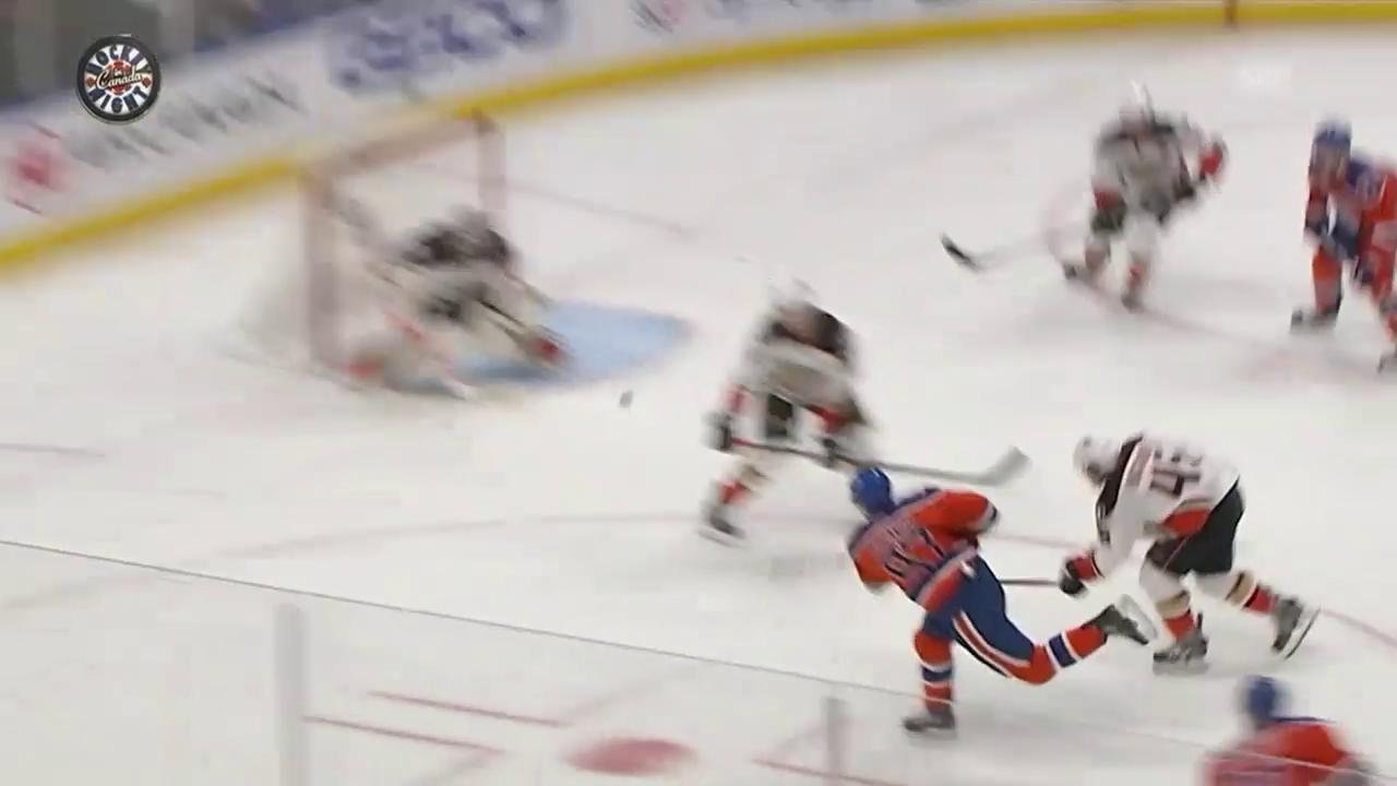 Drehung, Schuss, Tor: McDavid beeindruckt Gretzky