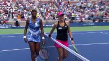 Video «Tennis: US Open, Bencic - V. Williams: Satz- und Matchball» abspielen