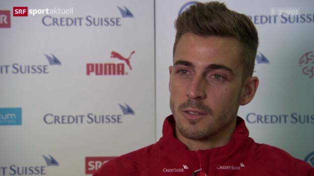 Video «Fussball: Marco Schönbächler erstmals bei der Nati» abspielen