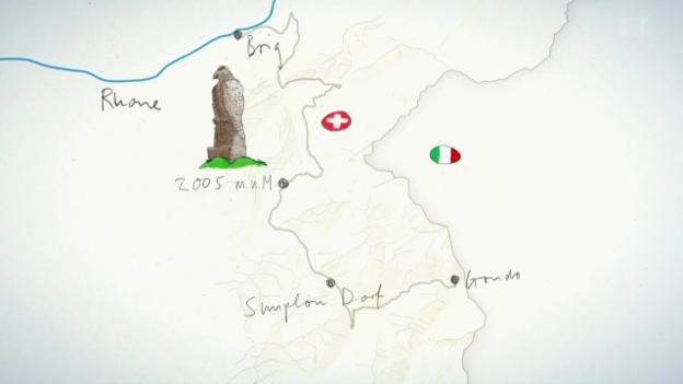 Video «Übersicht Simplon und 1. Tag: Passhöhe - Gondo - Rustico Sempionchino» abspielen