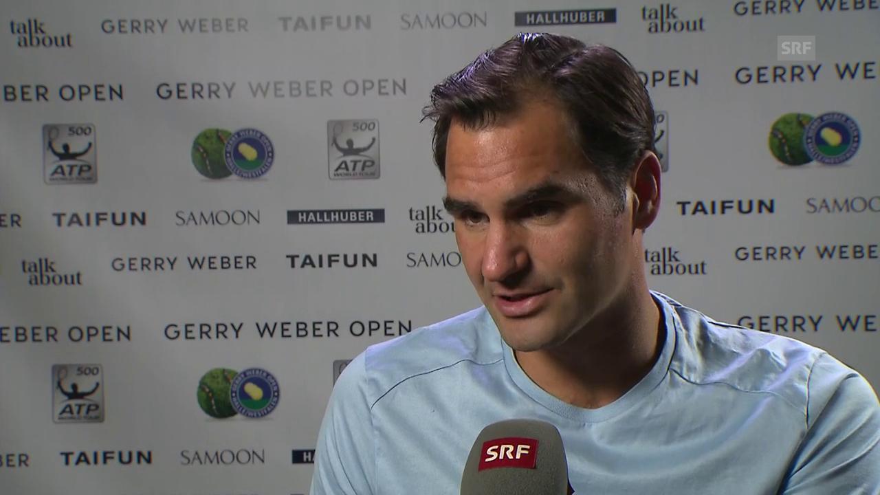 Federer: «Ich gewinne gerne auch mal über den Kampf»