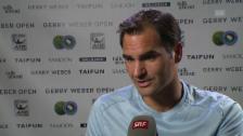 Link öffnet eine Lightbox. Video Federer: «Ich gewinne gerne auch mal über den Kampf» abspielen