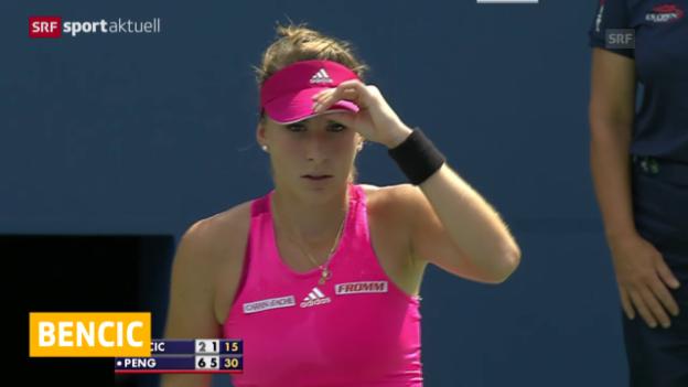 Video «Tennis: WTA-Turnier in Indian Wells» abspielen