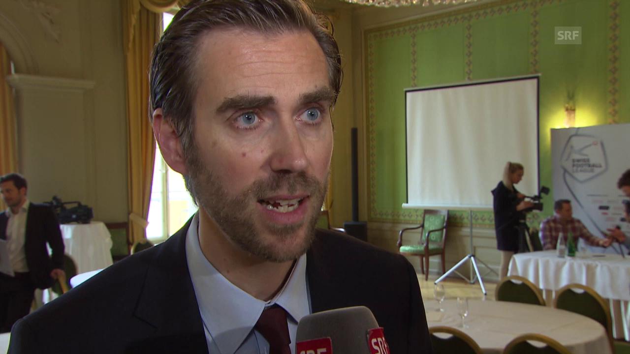 Fussball: Super League, Liga-CEO Claudius Schäfer zu «Focus One»