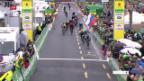 Video «Nairo Quintana siegt an der Tour de Romandie» abspielen
