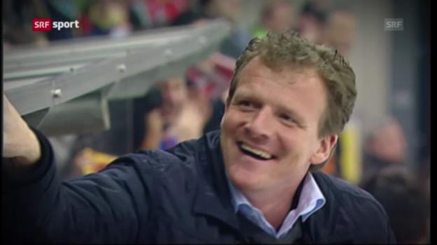 Video «Eishockey: Biel-Trainer Kevin Schläpfer im Porträt» abspielen
