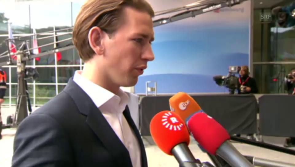 Sebastian Kurz: «So kann es nicht weitergehen»