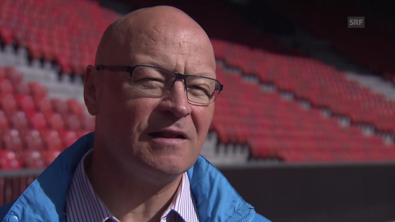Patrick Magyar über die Freiwilligen an der Leichtathletik-EM