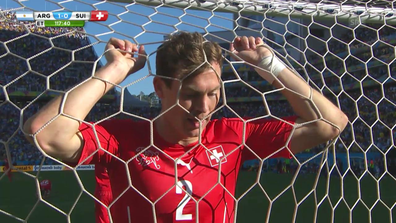 Schweiz-Argentinien: Die Live-Highlights