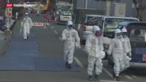 Video «Fukushima weiterhin Gefahrenherd» abspielen