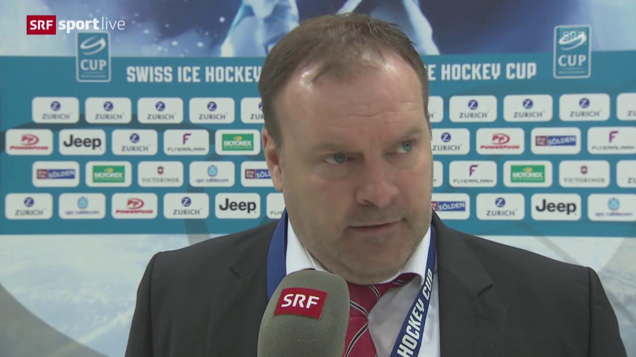 Ehlers: «Spielten nicht so wie geplant»