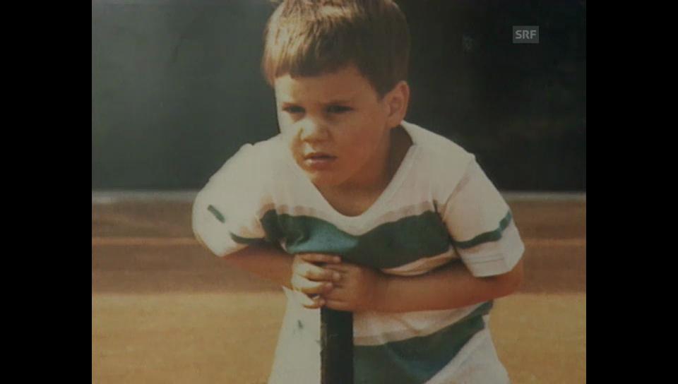Archivperle: Tennis Porträt Federer
