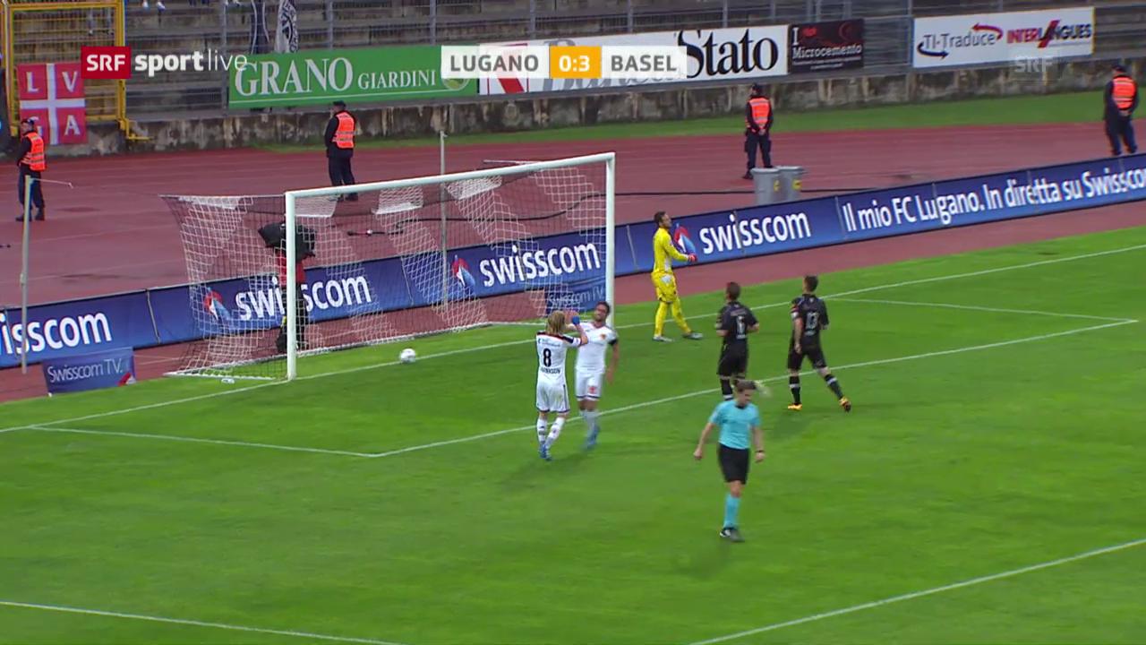 Lugano kassiert gegen Basel eine weitere Niederlage
