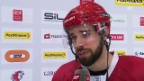 Video «Eishockey: Interview mit Etienne Froidevaux («sportlive», 13.3.14)» abspielen