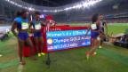 Video «Staffel-Final und 5000m-Final der Frauen» abspielen