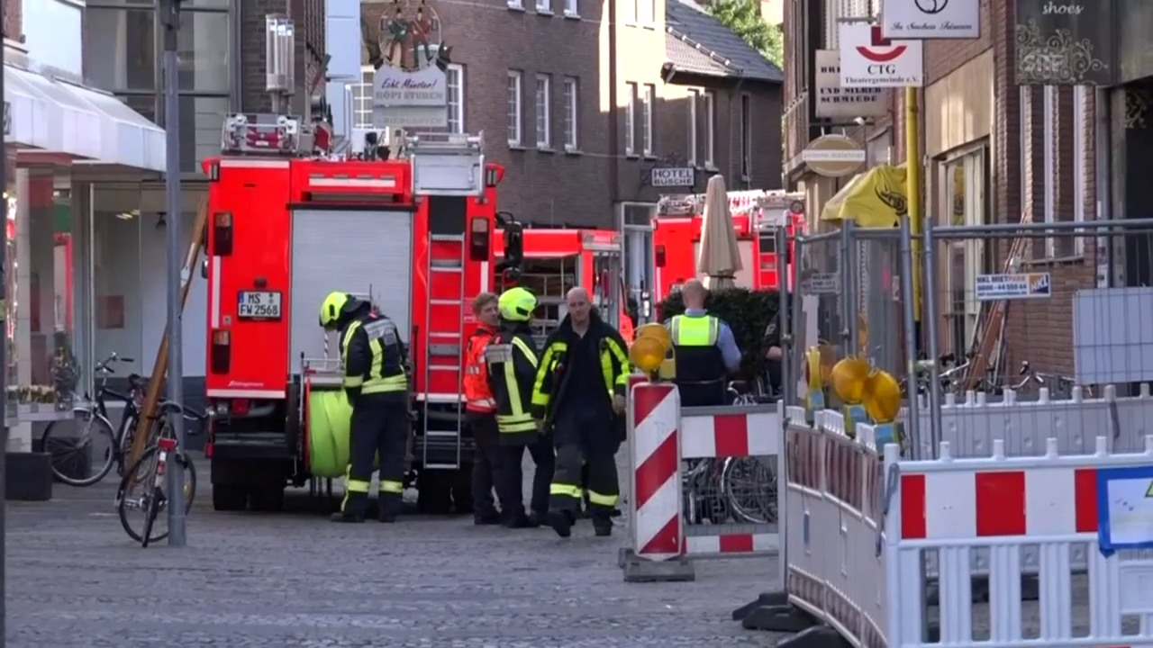 Drei Tote und viele Verletzte in Münster