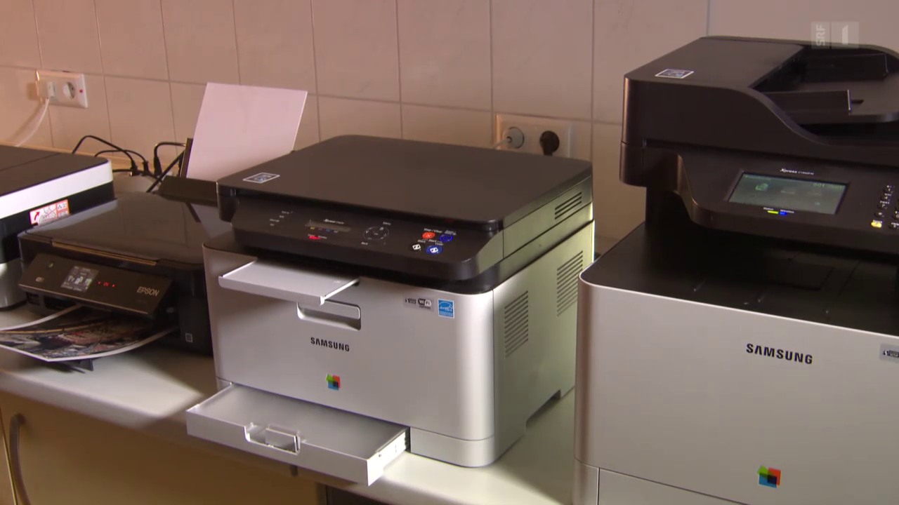 Drucker im Test: Manche sind wahre Tintenschleudern