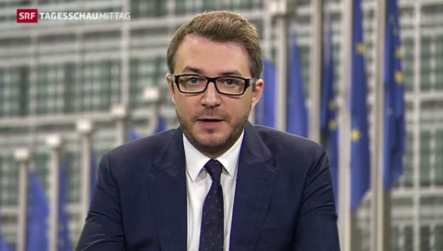 Video «SRF-Korrespondent Sebastian Ramspeck zu Juncker Plänen» abspielen