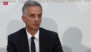 Video «Bundesrat zeigt nächste Schritte auf» abspielen