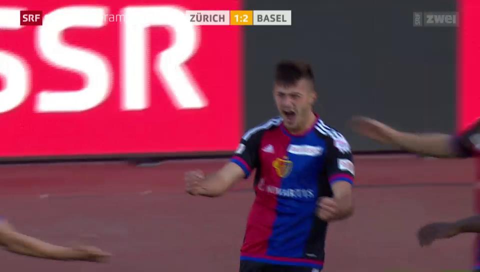 Fussball: Albian Ajetis Treffer gegen den FCZ