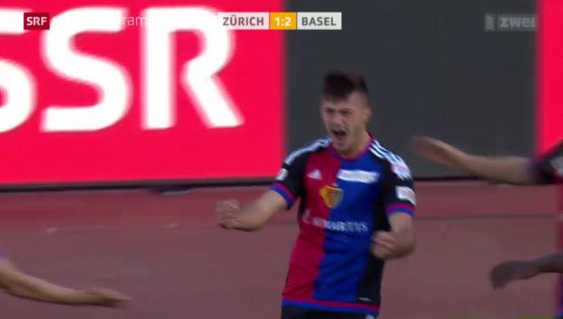 Video «Fussball: Albian Ajetis Treffer gegen den FCZ» abspielen