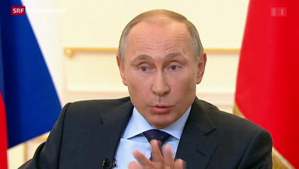 Putin hält an seinem Kurs fest