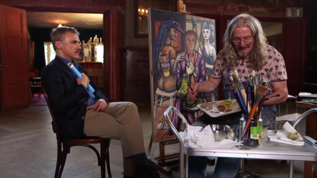 Video ««Der Meisterfälscher malt Christoph Waltz»» abspielen