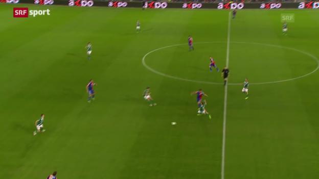 Video «SL: Basel - St. Gallen» abspielen
