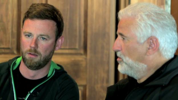 Video «Nik Hartmann jodelt mit Walter Alder» abspielen