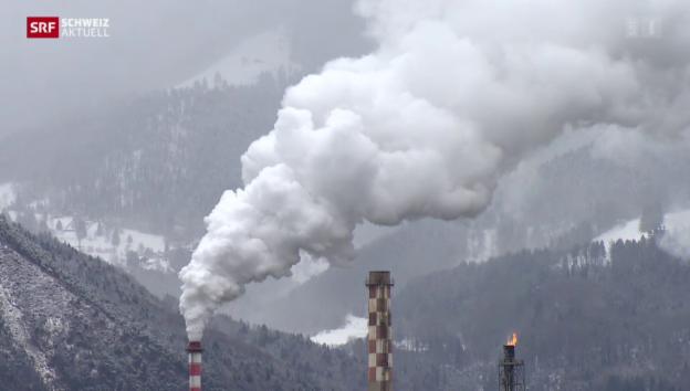Video «Zukunft der Tamoil-Raffinerie in Collombey bleibt ungewiss» abspielen
